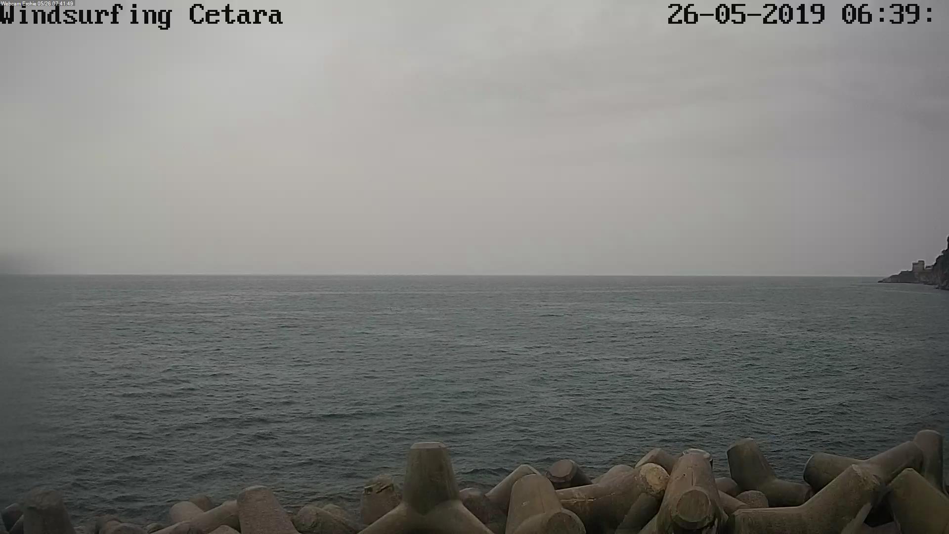 Webcam Windsurfing Cetara aggiornamento immagine in corso...